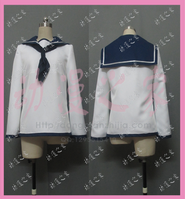 STRIKE WITCHES sailor suit Cosplay Costume Custom Any Size