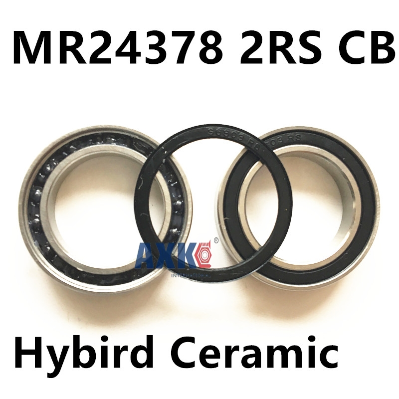 Free Shipping 24378 mr24378 2rs cb Hybrid Ceramic bearing (24*37*8 mm) SRAM bottom bracket repair parts bearing abxg 23327 2rs speed connection drum bearing 23327 2rs for sram bicycle hub repair parts bearing 23x32x7 mm 23 32 7 mm