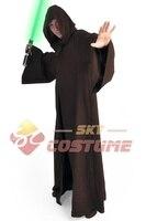Star Wars Kenobi/Darth Vader Cavaleiro Jedi Capuz Robe Manto Cosplay
