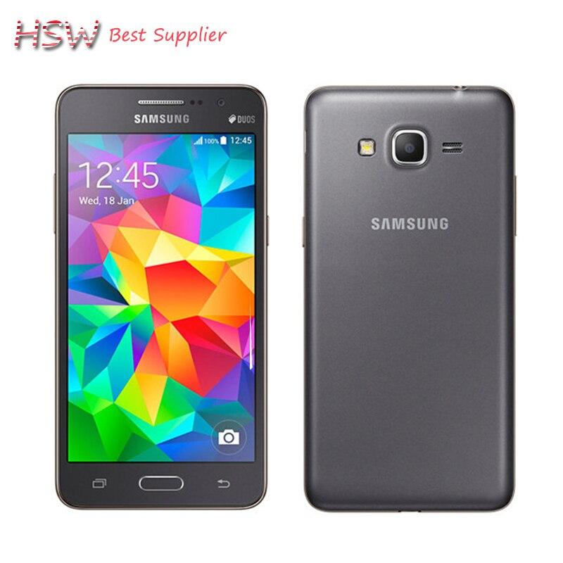 Original Samsung Galaxy Grand Prime G530h Unlocked Cell Phone Quad core Dual Sim 5 0 Inch