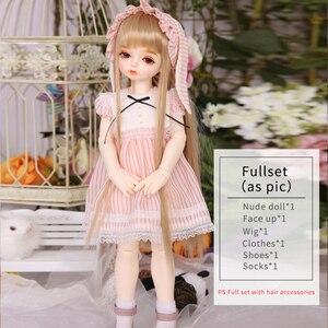 Image 5 - ROSENBJD Doll RL Holiday Pony  bjd sd dolls 1/4 body model girls High Quality resin Cute doll