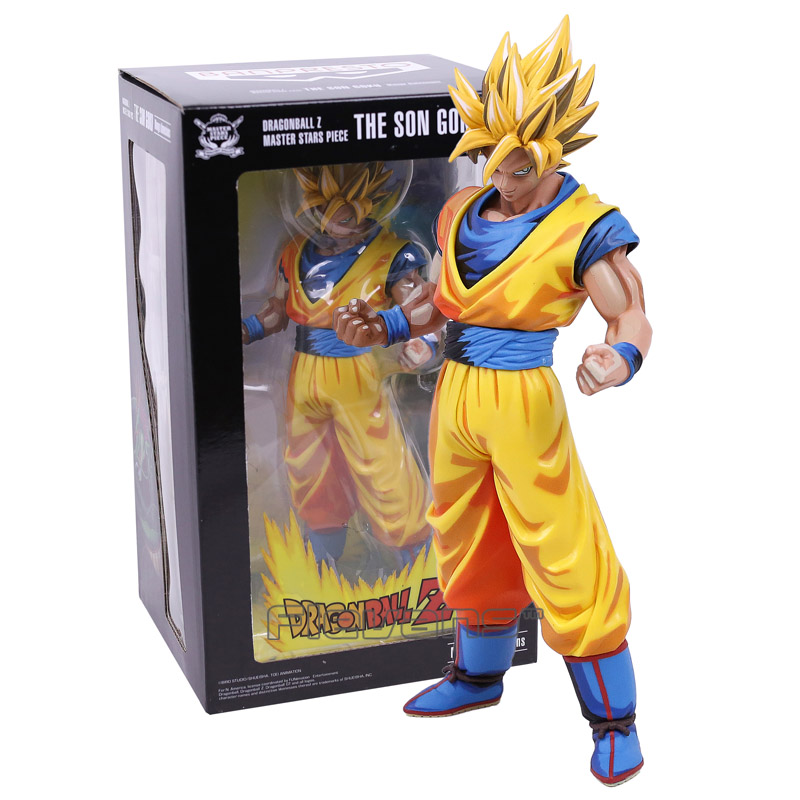 цены Dragon Ball Z Master Stars Piece MSP The Son Goku Manga Dimensions PVC Figure Collectible Model Toy