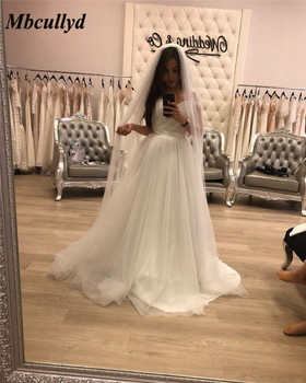 Mbcullyd Gorgeous Off Shoulder Wedding Dress 2019 Puffy A Line Ruffled Sweetheart Bridal Dresses For Women Vestido de noiva
