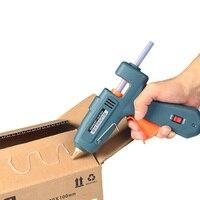 Professional Switch 60 100W Electric Hot Melt Glue Gun Hot Melt Glue Machine With 20pcs Glue