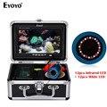 EYOYO EF07PRO 30 M Fisch Finder Unterwasser Angeln Kamera Batterie Control Box Infrarot und Weiß LED Video Aufnahme DVR 8 GB