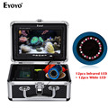 EYOYO EF07PRO 30 M Fishfinder Onderwater Vissen Camera Batterij Controle Box Infrarood en Wit LED Video-opname DVR 8 GB
