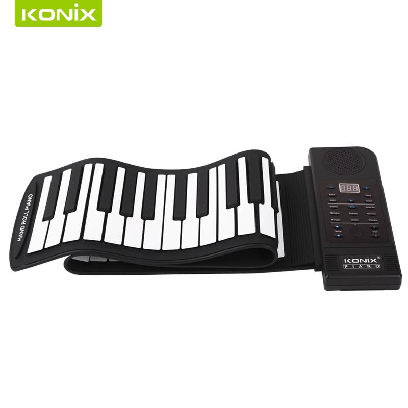 Les instruments de musique Roll Up Piano appartiennent aux jouets pour enfants avec services OEM et ODM