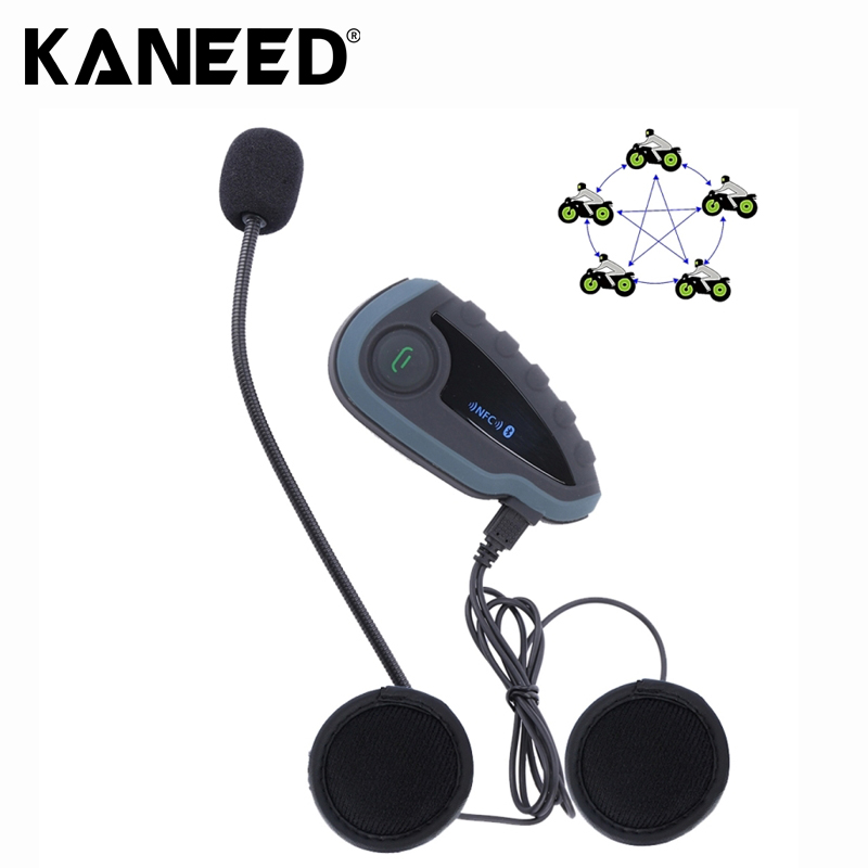 V8 1200m 5 Riders Motorcycle Helmet Bluetooth Intercom Stereo Headset with Remote Controller Support NFC FM Automatic Answering vnetphone 1200m motorcycle bluetooth helmet headset full duplex walkie for 5 riders intercomunicador 100