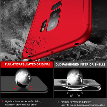 360 Full Cover Phone Case For Samsung Galaxy S10 S9 S8 Plus S7 Edge Note 9 8 Shockproof Cover S10 lite Fundas Capa 2