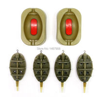 Sam S Fishing Inline Method Feeder And Quick Release Mould Set For Carp Fishing 4 Feeders