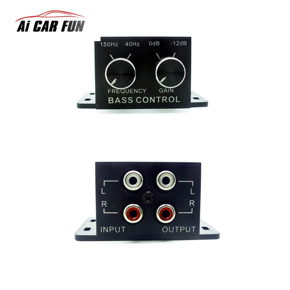 New Car Auto Power Amplifier Audio Regulator Bass Subwoofer Equalizer Crossover