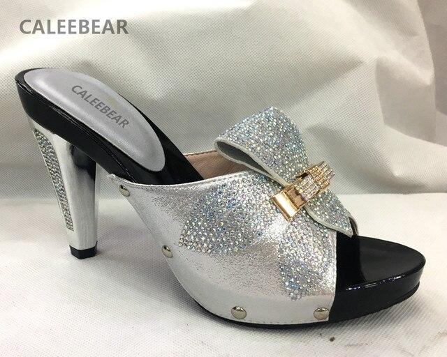 Britannique Simple strass luxe Chaussures à talon de la femme v7gduR