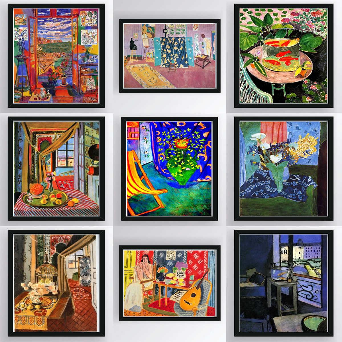 Verrassend Henri Matisse Canvas Print Vintage Art Poster Schilderij Woonkamer HR-01