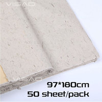 Chinese painting paper,97*180cm Xuan Paper for calligraphy Handcrafted Mulberry bark paper