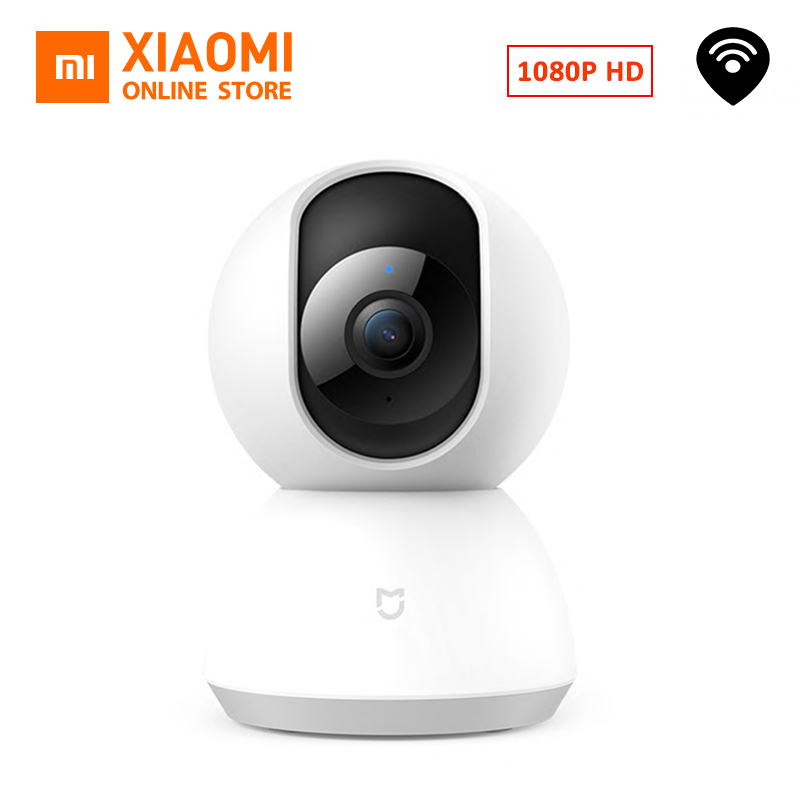 English Version Xiaomi Mijia Smart Camcorder 1080P WiFi Pan Tilt Camera Night Webcam