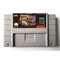 Super nintendo sfc/snes game street fighter ii o guerreiro mundo cartucho de jogo de vídeo console ntsc cartão inglês dos eua versão