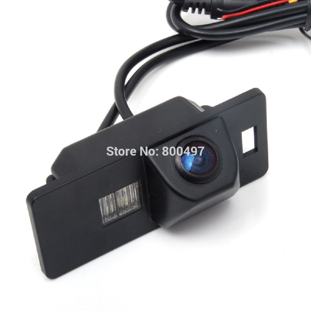 цена на Car Rear View Reverse Parking Camera Waterproof Night Vision Camera for Audi A1 A3 A4 A5 A6 RS4 TT Q5 Q7 Volkswagen Passat R36