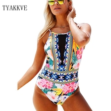 цены 2019 New One Piece Swimsuit Sexy Floral Printed Swimwear Women Bathing Suit Beach Backless Push Up Monokini Mesh Swimsuit Female