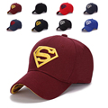 Women Couple Hip-Pop  Adult Sun Hat mens Supperman Baseball Cap Golf Cap