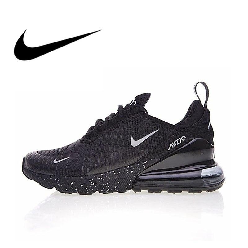 Original Nike Air Max 270 transpirables de los hombres Zapatos de deporte 2018 nueva llegada auténtica al aire libre zapatillas diseñador AH8050-202