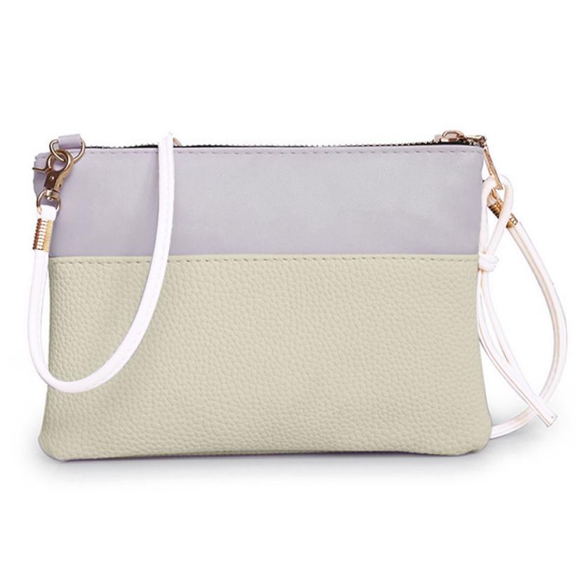 Women Handbag Shoulder Crossbody Bag Leather Zipper Tote Messenger Bag Ladies Purse Mini Small Package Phone Pocket Drop Ship #T shoulder bag
