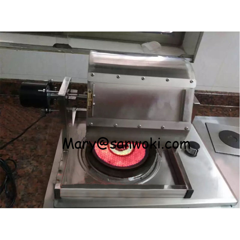 8L Roasting Machine for Spice Nut Coffee Bean Soybean Stainless Steel Dry Chili Grains Baking Rotaster
