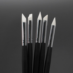 Image 3 - Dentistry Clinic 5 Pcs/Set Tooth Shaping Silicone Pen Adhesive Composite Resin Cement Porcelain