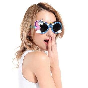 Модные очки единорог Star Love 1