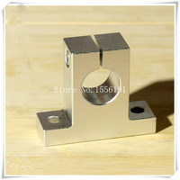 SK 40 Bearing Support Vertical Shaft Brackets SK40 Inside Diameter 40mm Linear Optical Axis Aluminum Seat