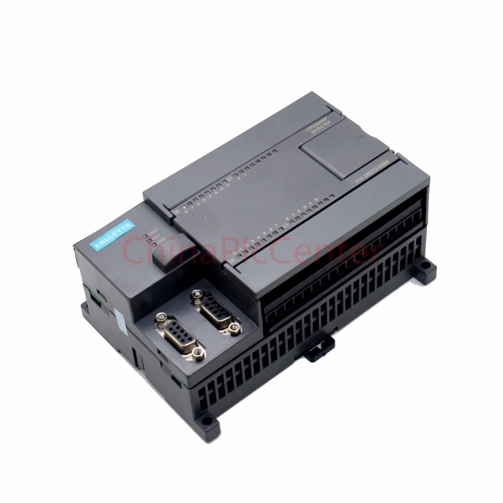 PLC LE-200/CPU224XP  DC/ DC/RLY   2AD1DA 14 input  10 relay output compatible 100% s7 200 cn cpu226 ac dc rly instead of simatic s7 200 plc