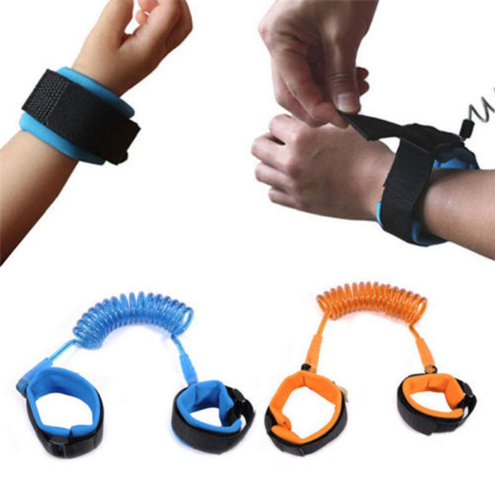 Child Safety Harness Leash Anti Lost Adjustable Wrist Link Traction Rope Wristband Belt Baby Kids  New