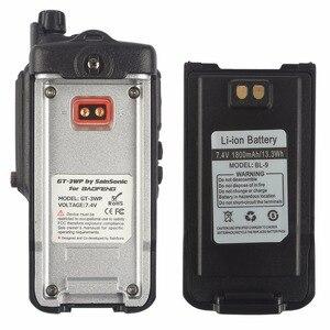 Image 4 - 2 יחידות Baofeng GT 3WP IP67 עמיד למים חזיר להקה כפולה VHF UHF שני רדיו דרך מכשיר קשר עם כבל USB תכנות רכב מטען