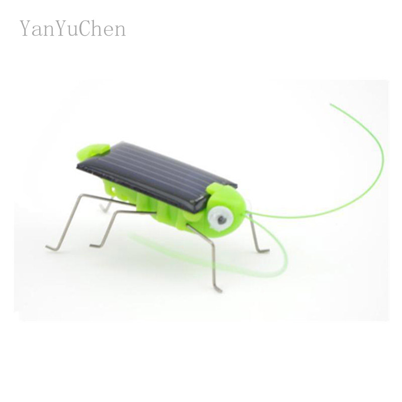 Funny!New Arrival Grasshopper Model Solar Toy Children Outside Toy Kids Educational Toy Gifts Augmented Reality Toys!