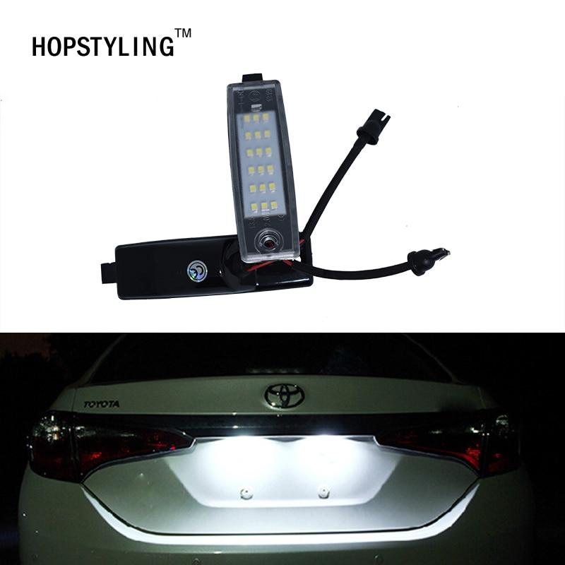2x LED rück anzahl kennzeichenbeleuchtung für Lexus RX300 Scion xb ...