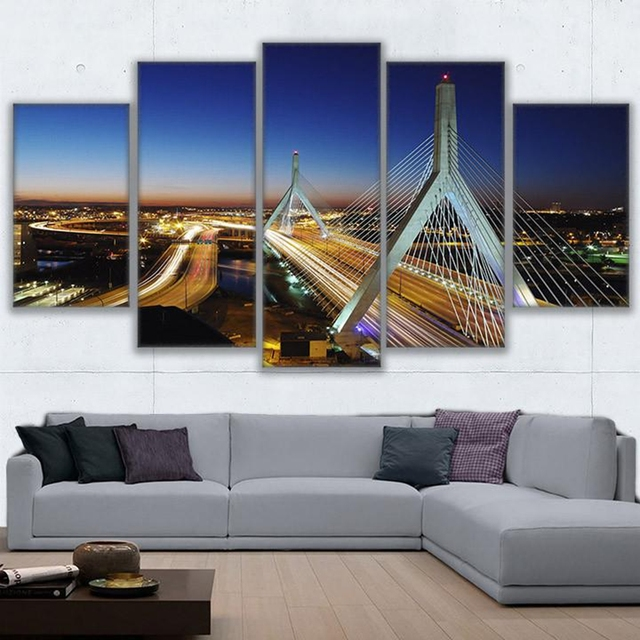 Modern Wall Art Canvas HD Prints Painting Frame Modular Poster 5 .