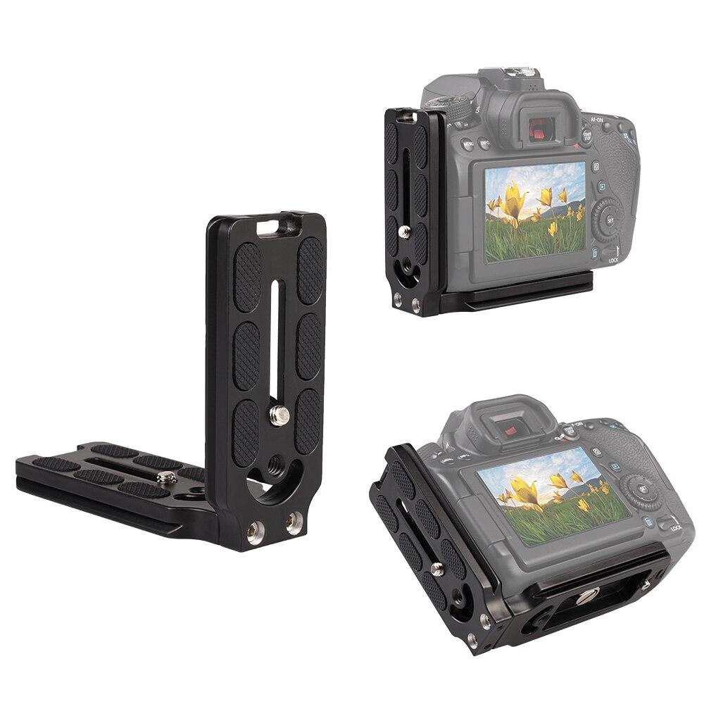Держатель для аксессуаров камеры CamFi L-образная пластина быстрого выпуска L кронштейн пластина стенд для DSLR камеры Canon Nikon Сони Camfi