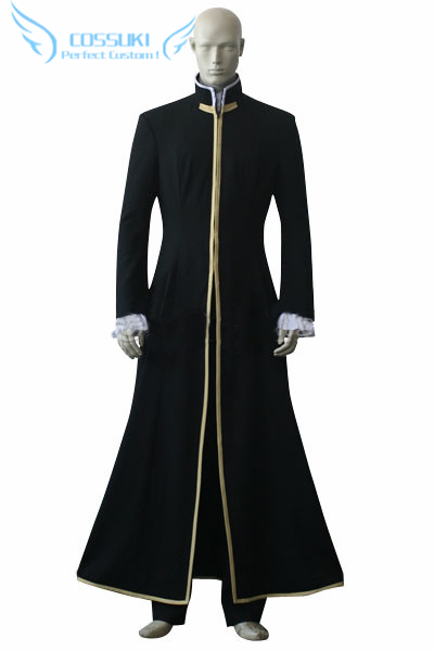 Newest High Quality D Gray Man General Cross Marian Uniform Cosplay Costume Perfect Custom For You