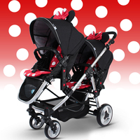 Godmy high quality twin stroller for twins baby stroller