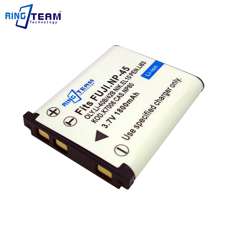 Camera Battery NP-80 NP-82 for Casio Exilim Zoom EX-G1 H5 S5 S6 S7 Z1 Z2 Z33 Z35 Z115 Z200 Z270 Z280 Z550 Z800 Fuji NP-45 NP45 dste np 60 battery charger for casio ex s12 ex s10 ex fs10 more us plug