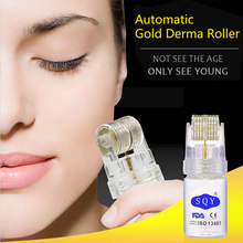 Facial Cleaning Gold Microneedle Automatic Guide Microneedle Roller