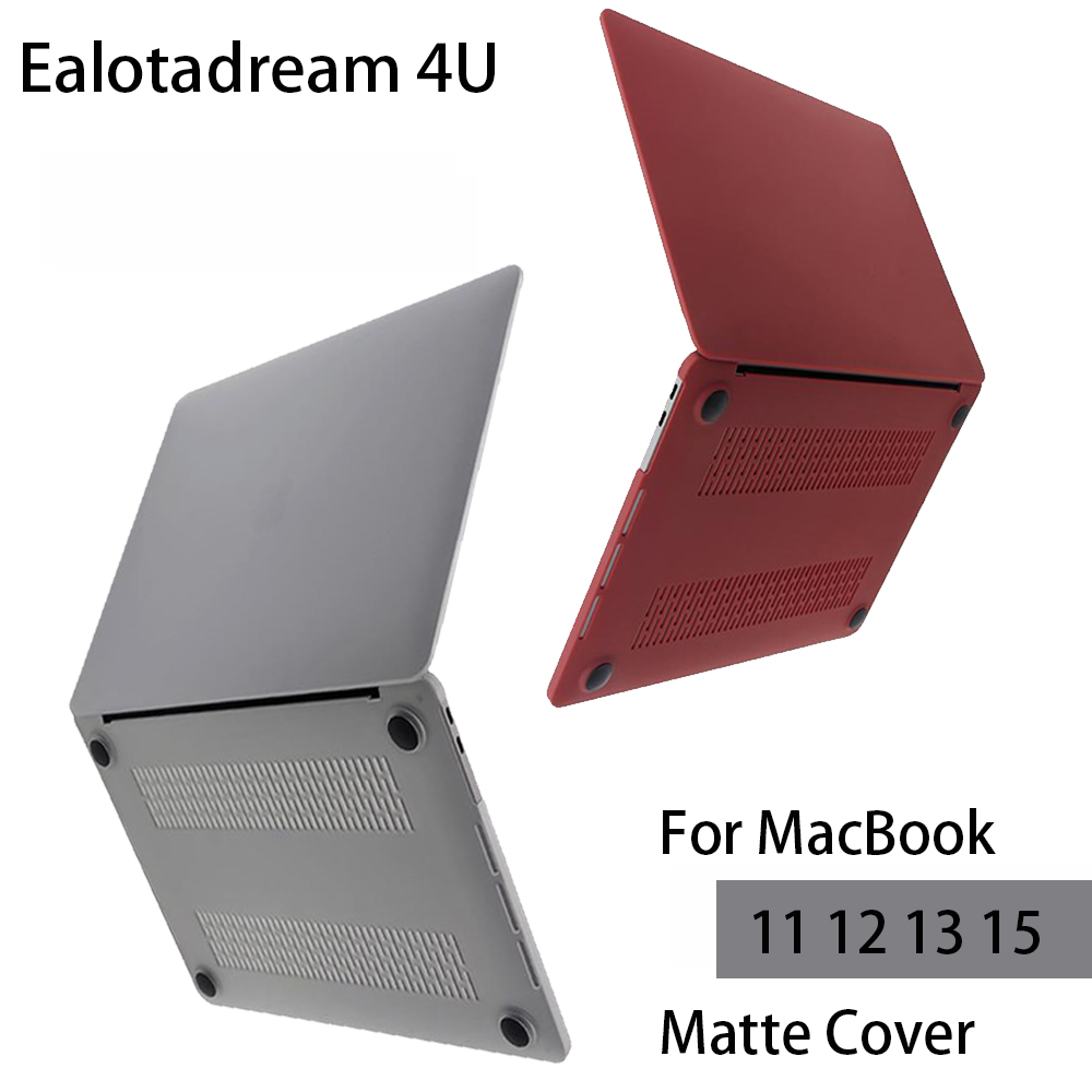 Slim For Macbook Air 13 Pro 13 Laptop Case Hard PVC Matte Protective Cover For Macbook Air Pro Retina 11 12 13 15 Laptop Cover