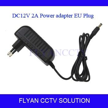 4PCS/LOT AC Converter Adapter DC 12V 2A CCTV Camera Power Supply EU/US plug 5.5mmx2.1mm 2 set lot neutrik powercon type a nac3fca nac3mpa 1 chassis plug panel adapter