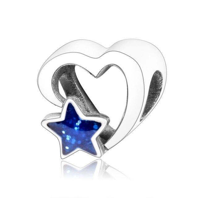 2018 valentines day jewelry 925 sterling silver love charms beads fit origianl pandora charm bracelets diy new design berloque - Valentines Pandora Charms