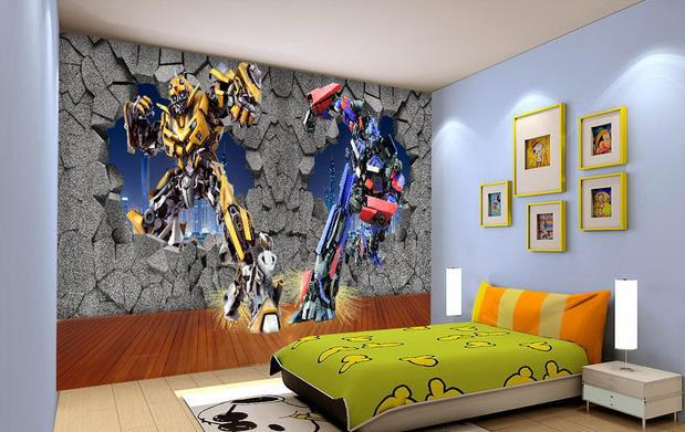 Transformers Wall Decals Home Decor