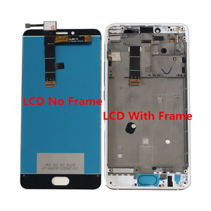 """Image 5 - Test 5.5 """"Meizu U20 Axisinternational LCD ekran + dokunmatik Panel sayısallaştırıcı için çerçeve ile Meizu U20 ekran"""