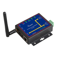 DIEWU Wifi & Ethernet RJ45 To RS232 & RS485 WIFI Serial device Server converter Module support TCP/UDP/IP P2P