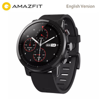 English Version Xiaomi Huami Amazfit Stratos Pace 2 Smart Watch With GPS PPG Heart Rate Monitor