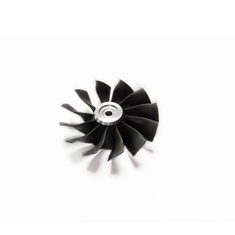 Freewing P0902 P0904 90MM metal EDF set 12-blade ducted fan with outer/inner Brushless Motor For RC Model