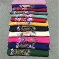 Winter Scarf Women Bandana Echarpe Bufandas Cotton Blend Flower Embroidery National Wind Shawls Cachecol Feminino Muffler Scarve