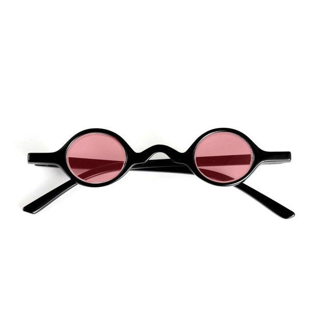 674f293451e mincl  2018 Retro Small Round Sunglasses Men Male Vintage punk Oval Sunglass  Women Hip Hop Red Glasses Eyewear UV400 FML